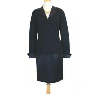 Vintage 1980s Adrienne Vittadini  Dress Suit
